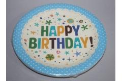 Tanjuri rođendanski  plavi  10/1   CH52465