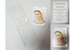 Kutija PVC 18x12cm + slika za Međugorje  10x15cm  CH59821