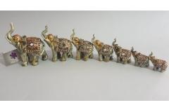 Figura slon keramički 7/1  10,5x8cm   CH60234