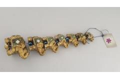Figura slon keramički na špagi 7/1 8,5x5,5cm CH60236
