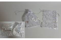 Vrećica darovna til 16x10cm,srebrna (minimalno 100 komada u pakovanju) CH60467-S