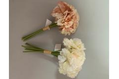 Cvijeće umjetno buket 6 karanfila 32cm CH60654
