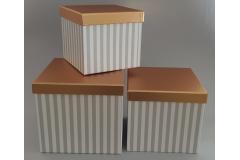 Kutija darovna 3/1 21x21x19cm CH60685