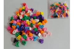 Kopčice za kosu 1cm 100/1 CH6211-Š