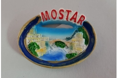 Suvenir magnet keramički  Mostar  CH6282