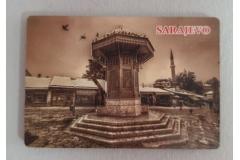 Magnet za frižider 5D Sarajevo  8x5,5cm CH6345
