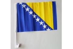 Zastavica za staklo  BiH   30x40cm CH6446