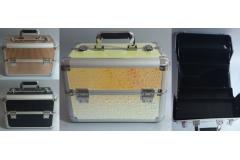 Kovčeg metalni za šminku  36x22x26cm (SAMO CRNI) CH6775