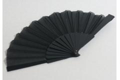 Lepeza jednobojna ,crna  CH9867- C