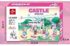 Igračka kockice dvorac 131kom. 25,5x23,5x4,5cm  MK24247